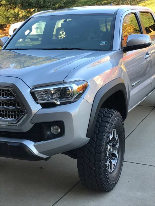 """2016 Toyota Tacoma Lifted >> 2016 TRD Off-road 3"""" Lift   Tacoma Forum - Toyota Truck Fans"""