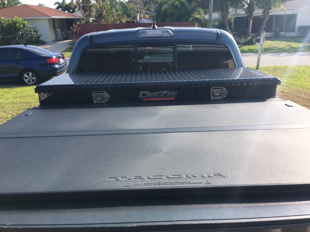 Tool Box And Tonneau Cover Tacoma Forum Toyota Truck Fans