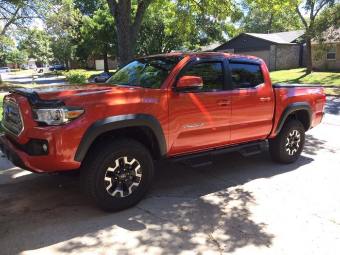 17 Or 18 Inch Wheels Tacoma Forum Toyota Truck Fans