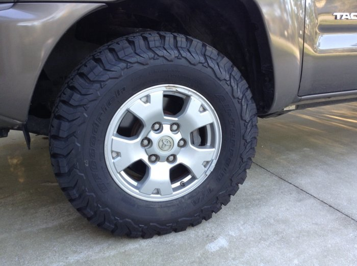 Tire Brand Tacoma Forum Toyota Truck Fans