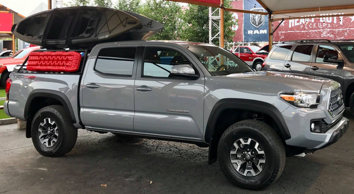 2018 toyota tacoma trd off road cement tacoma forum toyota truck fans. Black Bedroom Furniture Sets. Home Design Ideas