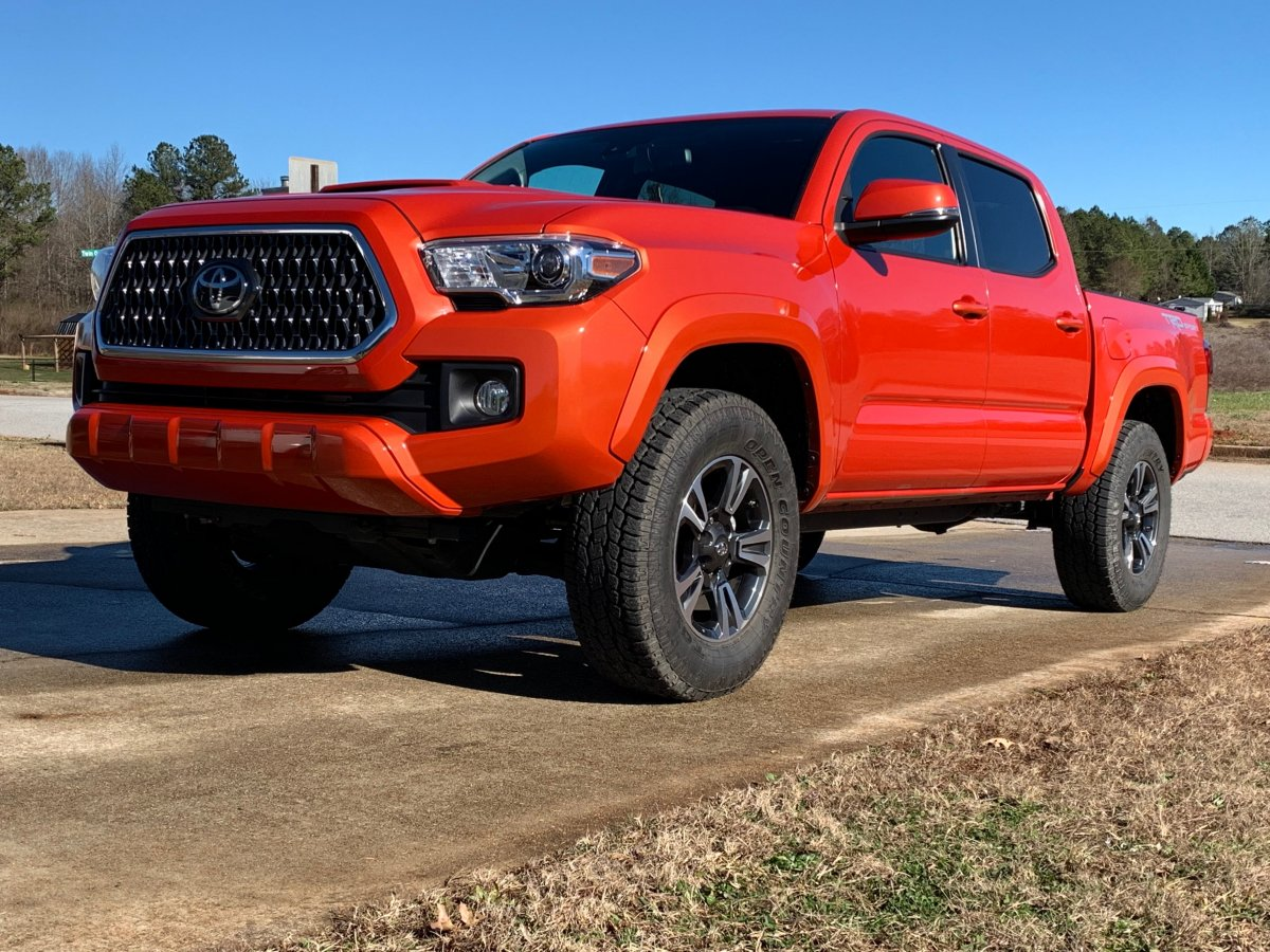 Offroad Stock Fender Flares Tacoma Forum Toyota Truck Fans