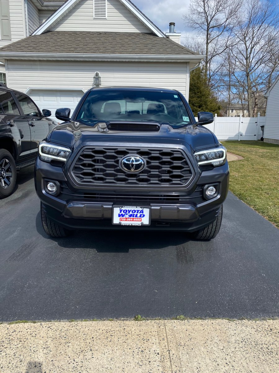 2020 Trd Sport Grille Lights Tacoma Forum Toyota Truck Fans