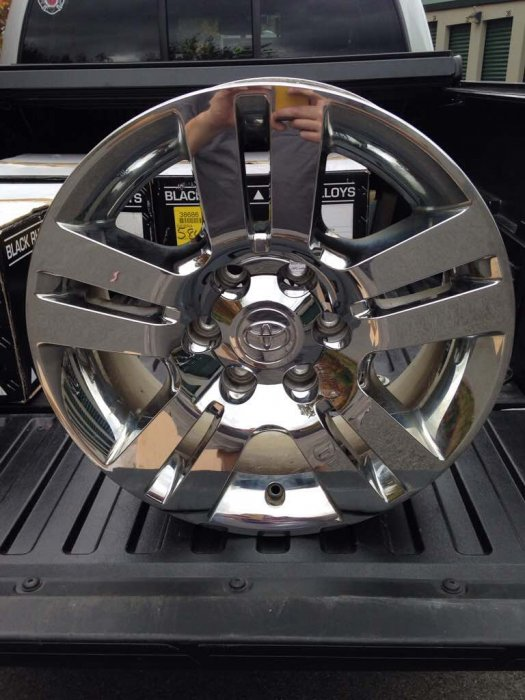 "Toyota Tacoma Limited >> Set of 4 18"" 6 lug OE Toyota Limited wheels 