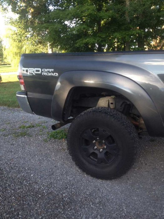 2015 3 inch lift and 33' tires | Tacoma Forum - Toyota Truck