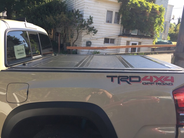 Truck Bed Mat Price >> Tonneau cover | Tacoma Forum - Toyota Truck Fans
