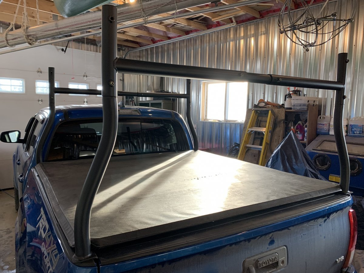 Toyota Tonneau Cover And Ladder Rack Tacoma Forum Toyota Truck Fans